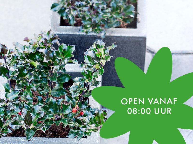Dagelijks Vanaf 08:00 Uur Open