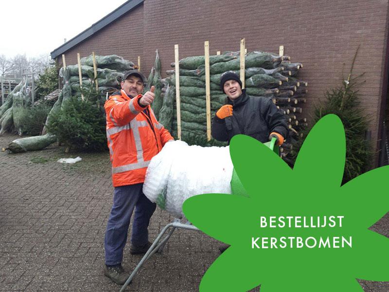 Bestel uw kerstbomen bij Veiling Vaassen